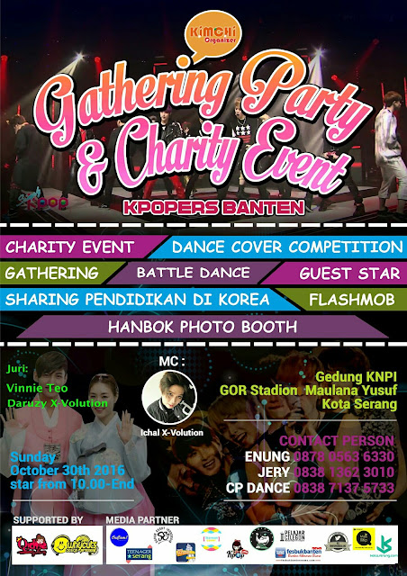 Gathering Party & Charity Event Kpopers Banten