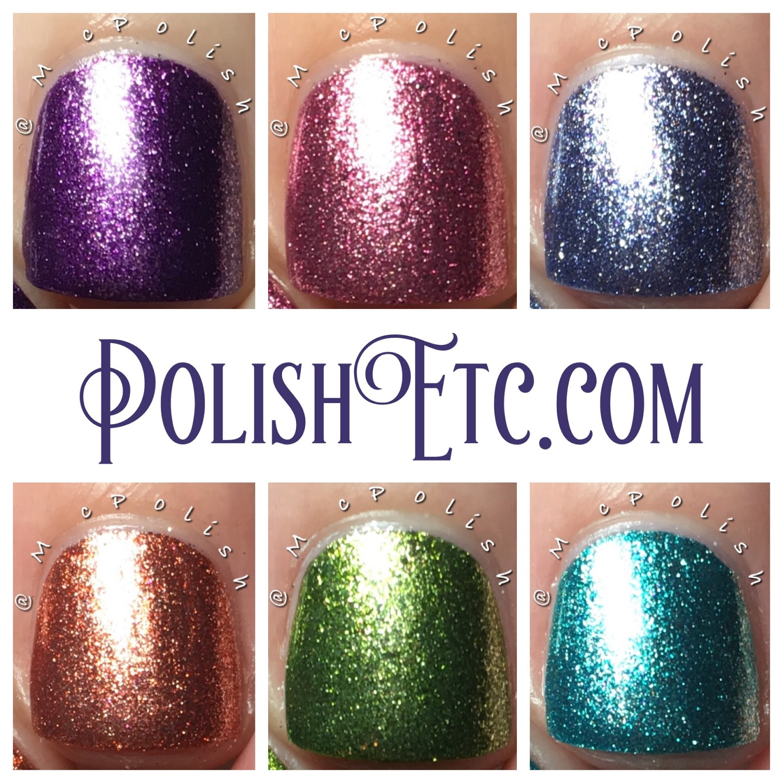 Pahlish - Life Aquatic Collection - McPolish