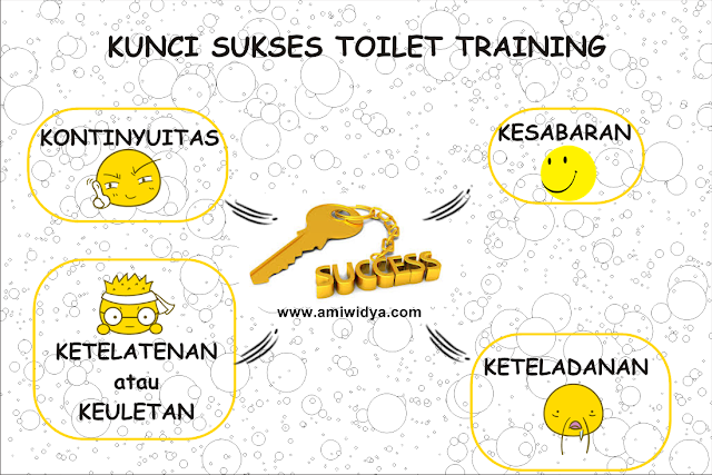 kunci sukses toilet training