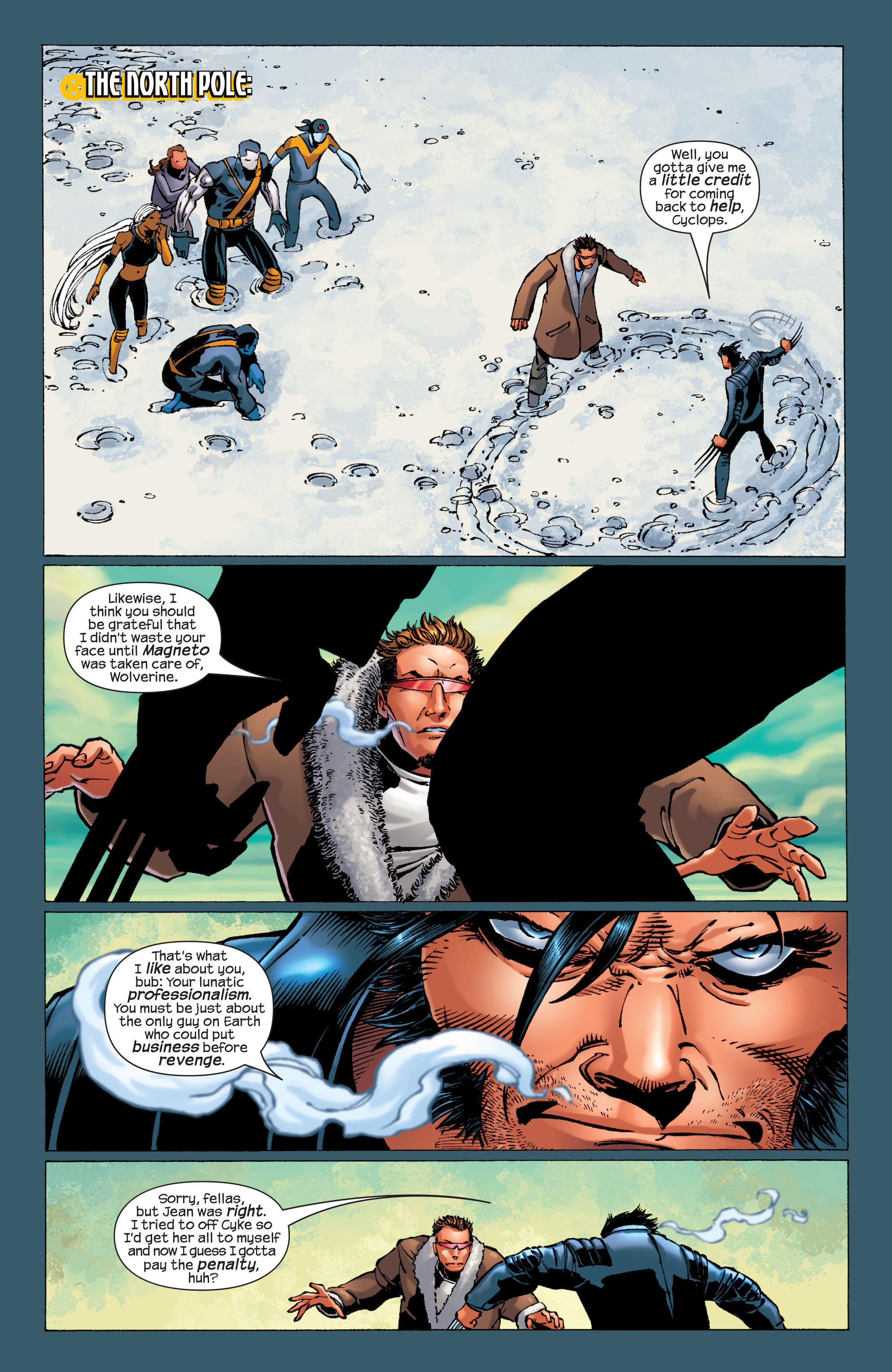 Read online Ultimate X-Men comic -  Issue #32 - 4