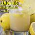 Lemon Diet For Losing 20 Pounds In 2 Weeks Or Less