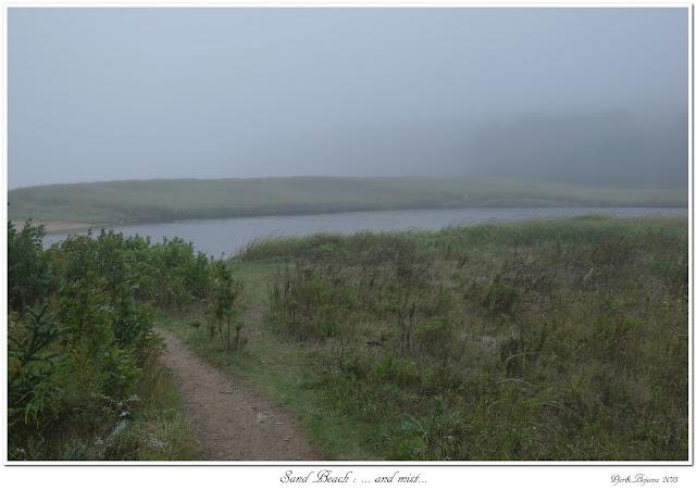 Sand Beach: ... and mist...