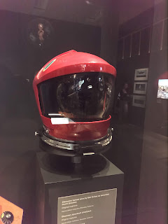 Original helmet from 2001: A Space Odyssey