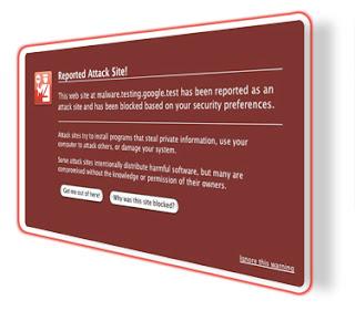 peringatan malware blog