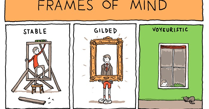 INCIDENTAL COMICS: Frames of Mind