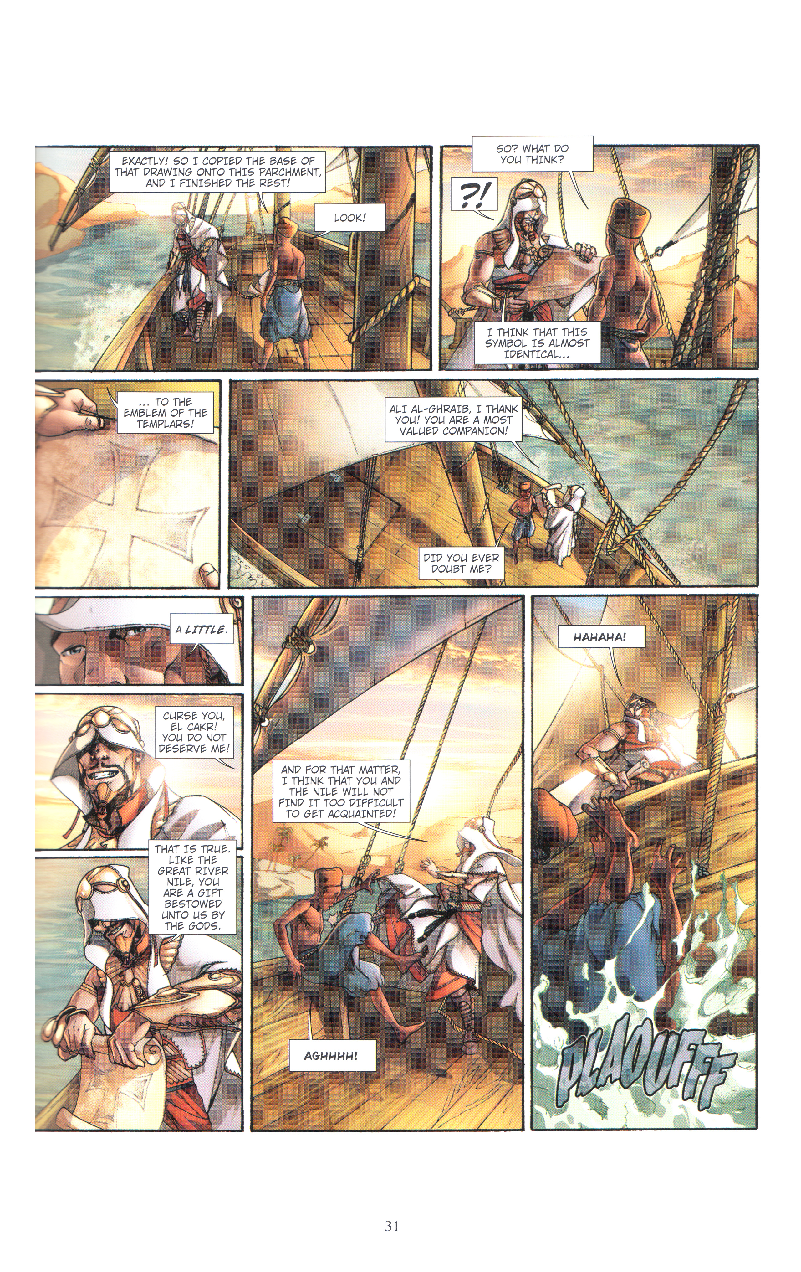 Read online Assassin's Creed (2012) comic -  Issue #4 - 31