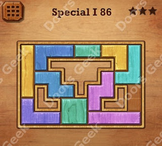 Cheats, Solutions, Walkthrough for Wood Block Puzzle Special I Level 86