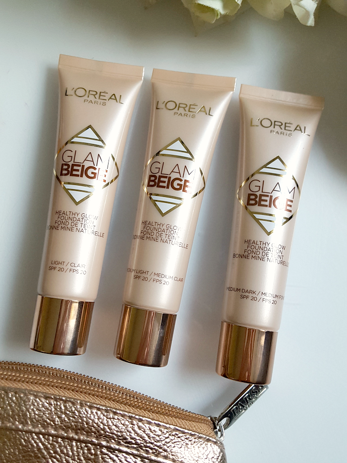Review: L´ORÉAL Paris - Glam Beige Healthy Glow Flüssig Foundation - 30ml - 9.95 Euro