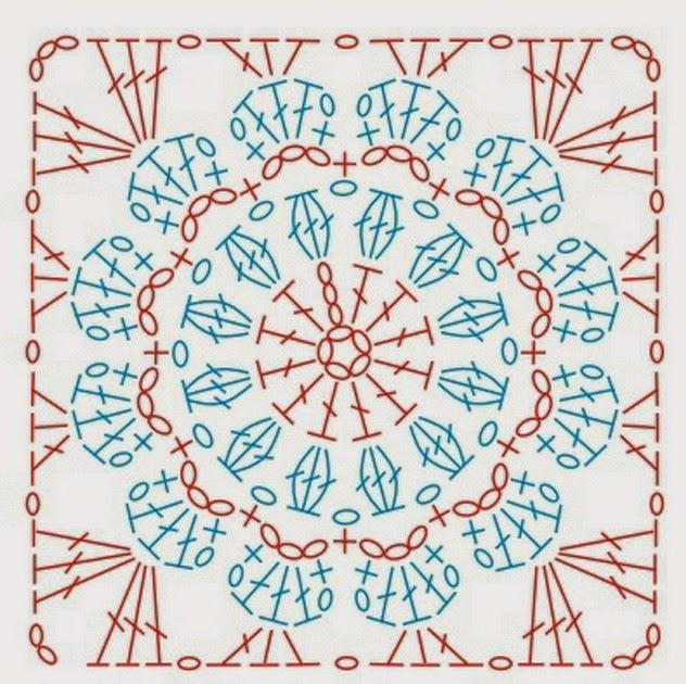 схема квадрата для очёчника