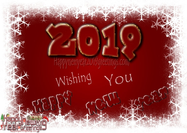 Happy New Year 2019 HD Wish you Photo Greetings