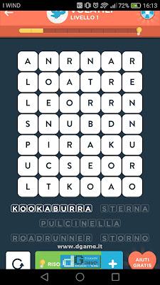 WordBrain 2 soluzioni: Categoria Volatili (6X7) Livello 1
