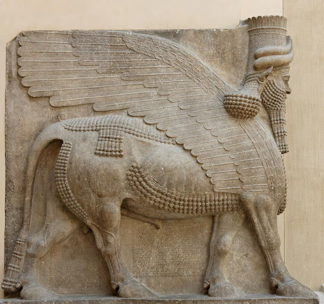Leon-Alado-Asiria
