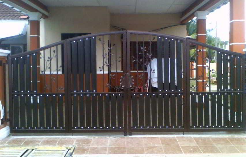 Contoh Pintu Pagar Terkini Rumah Moden | Desainrumahid.com