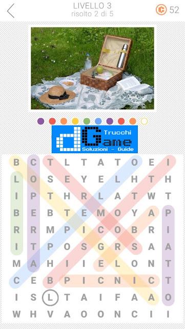 10x10 Crucipuzzle soluzione pacchetto 3 livelli (1-5)