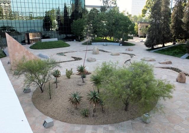 Picnic at the Nuguchi Garden in Costa Mesa, again.