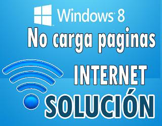 Como resolver el problema de red en windows 8.1 y 10