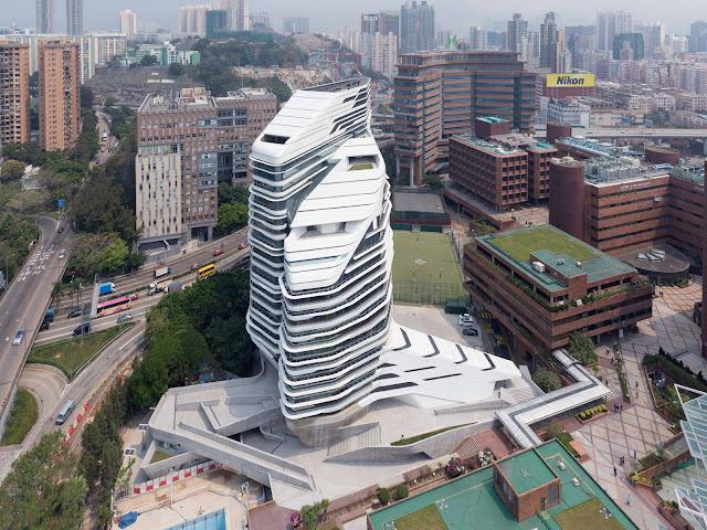tòa nhà Đại học Bách khoa Hồng Kông