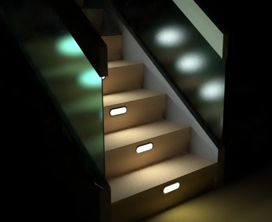 Lighting Basement Washroom Stairs: Foundation Dezin & Decor...: Stairs.. Design Tips