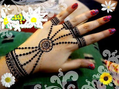 Jewellery Mehndi Designs for Hands
