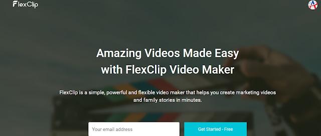 FLEXCLIP Free Online Video Editing Site No Watermark