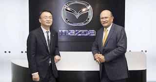 Nobuyuki Sato nuevo directivo de Mazda para Colombia