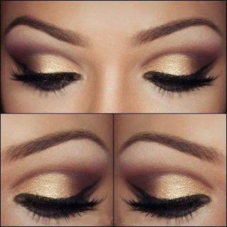 How-to-apply-natural-makeup-&-eye-makeup-ideas-for-brown-4