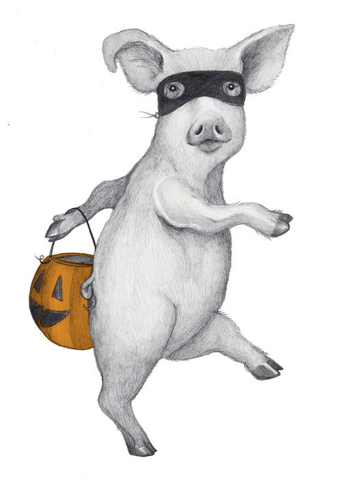Hans-My-Hedgehog Illustrations: Halloween is drawing nigh