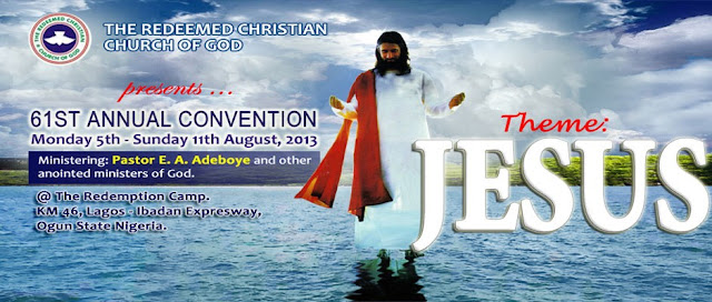 Tears Of Supplication: A Moment With Heaven - RCCG 61st Annual Convention