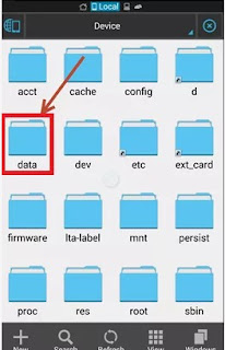 First install the ES File Explore .ignore if you already have any Root explore 2.Open ES File Explorer and browse to system folder 3.you will see a folder named DATA. 4.navigate to /misc/WiFi. 5.see a config file named