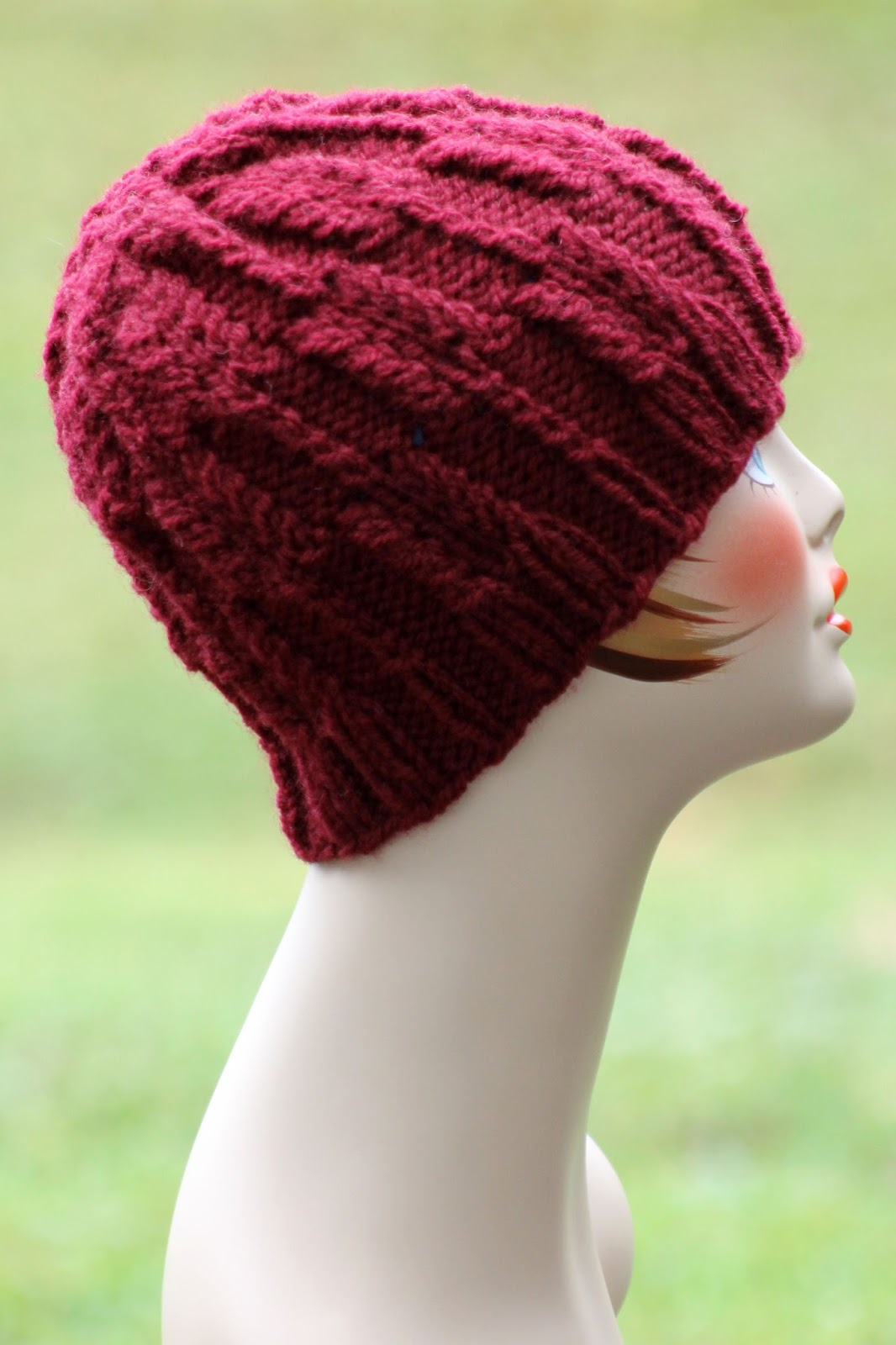Balls to the Walls Knits  Austrian Block Hat a3e30502975