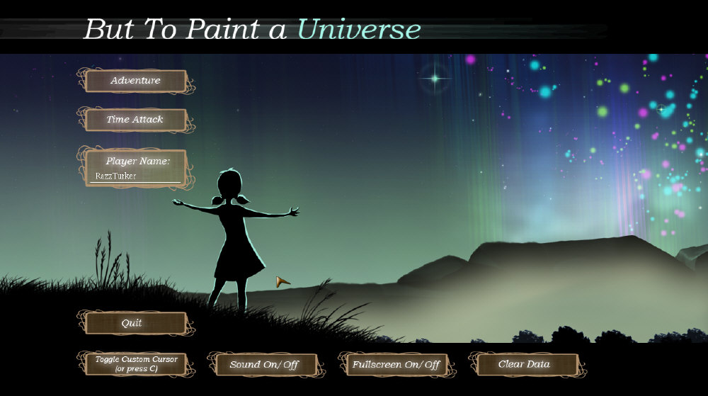 But to Paint a Universe free download