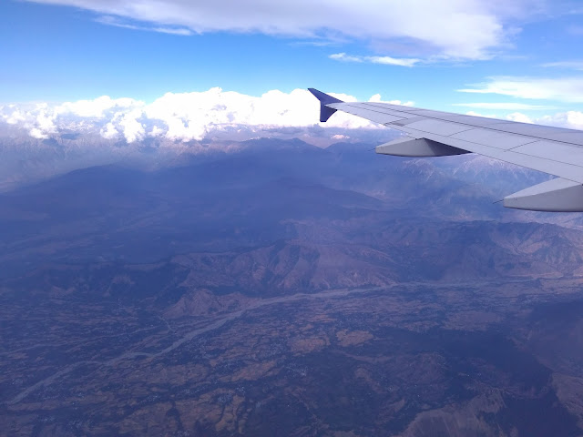 a view from flight