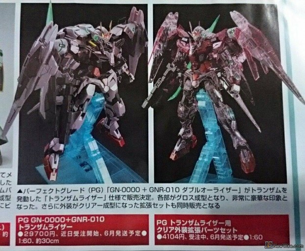 P-Bandai: PG 1/60 00 Raiser Trans-Am Mode