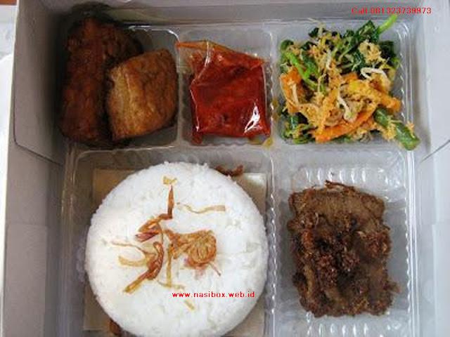 Nasi box 15000 ciwidey
