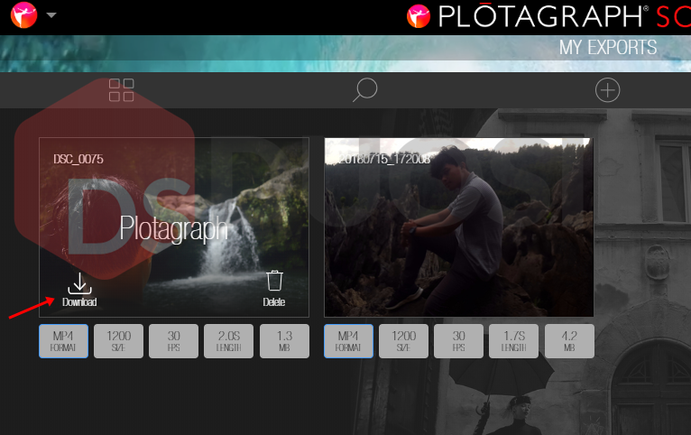 download foto bergerak plotagraph