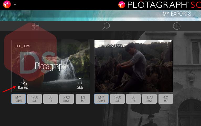 download foto bergerak plotagraph