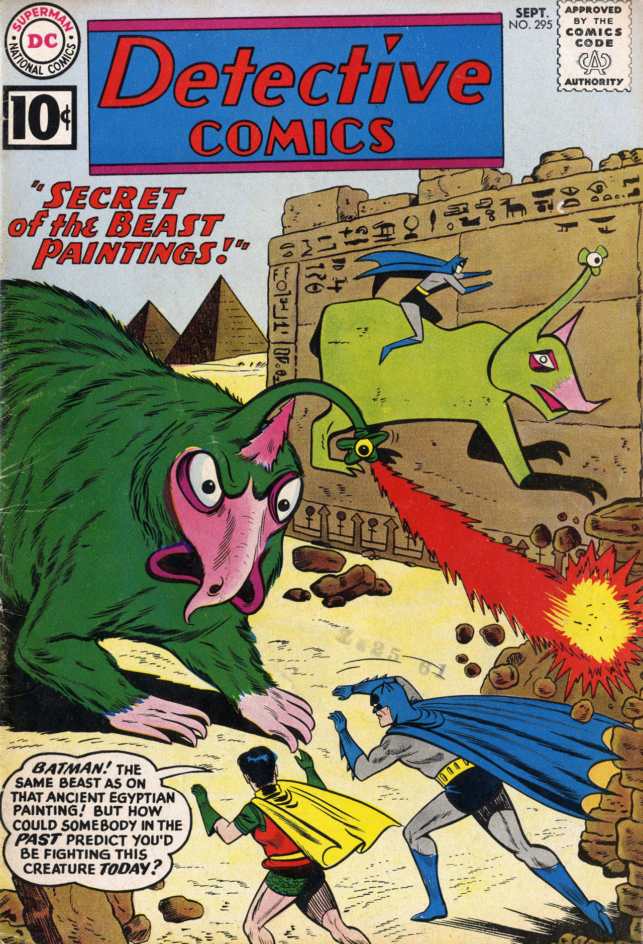 Detective Comics (1937) 295 Page 1