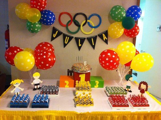 aniversario-infantil-com-o-tema-das-olimpiadas