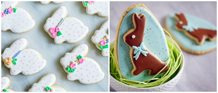 Bake at 350 decorated cookie index: Easter cookies