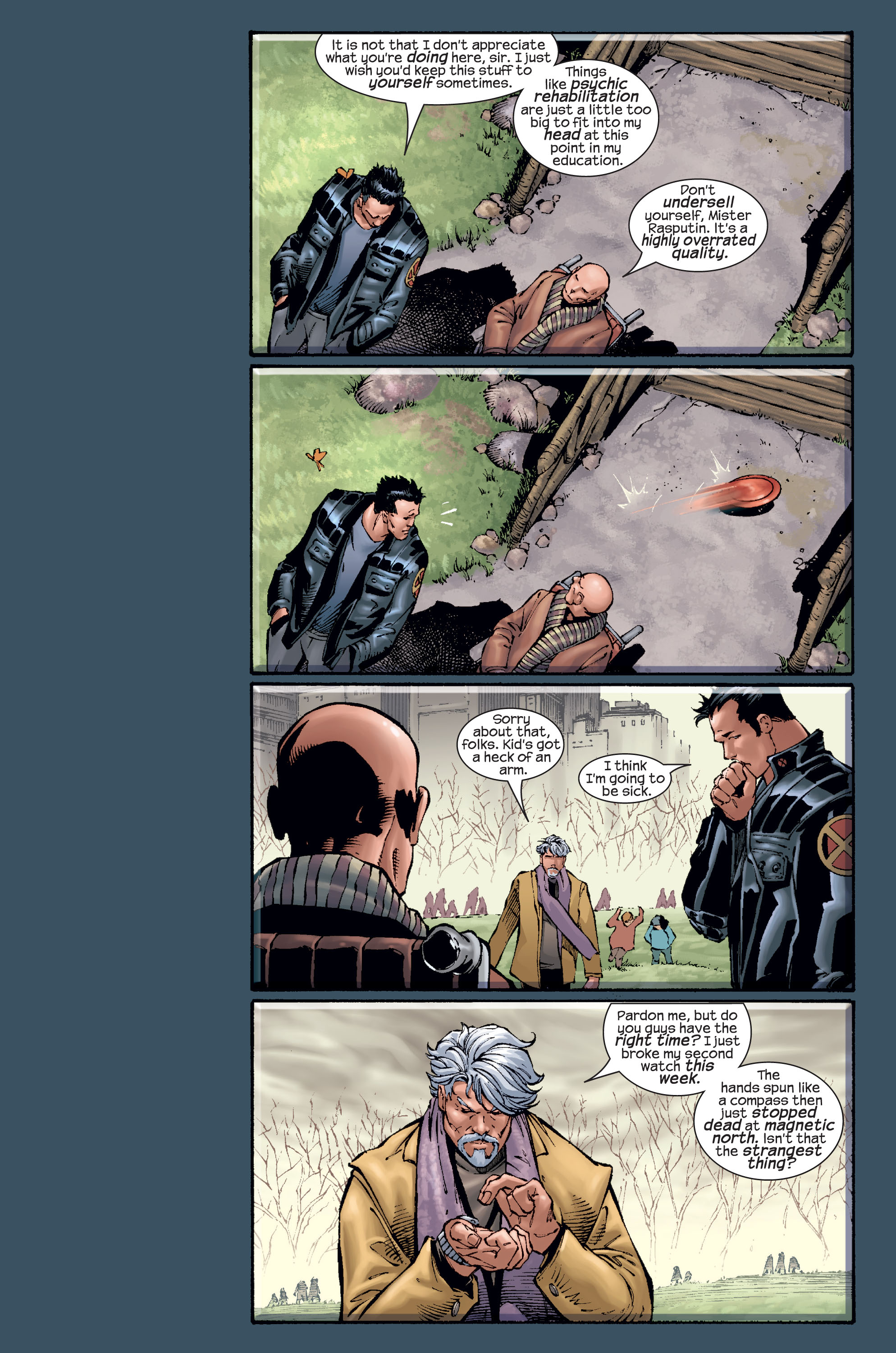 Read online Ultimate X-Men comic -  Issue #15 - 19
