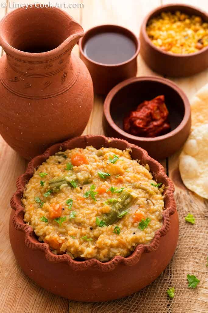 how to prepare south indian sambar sadam