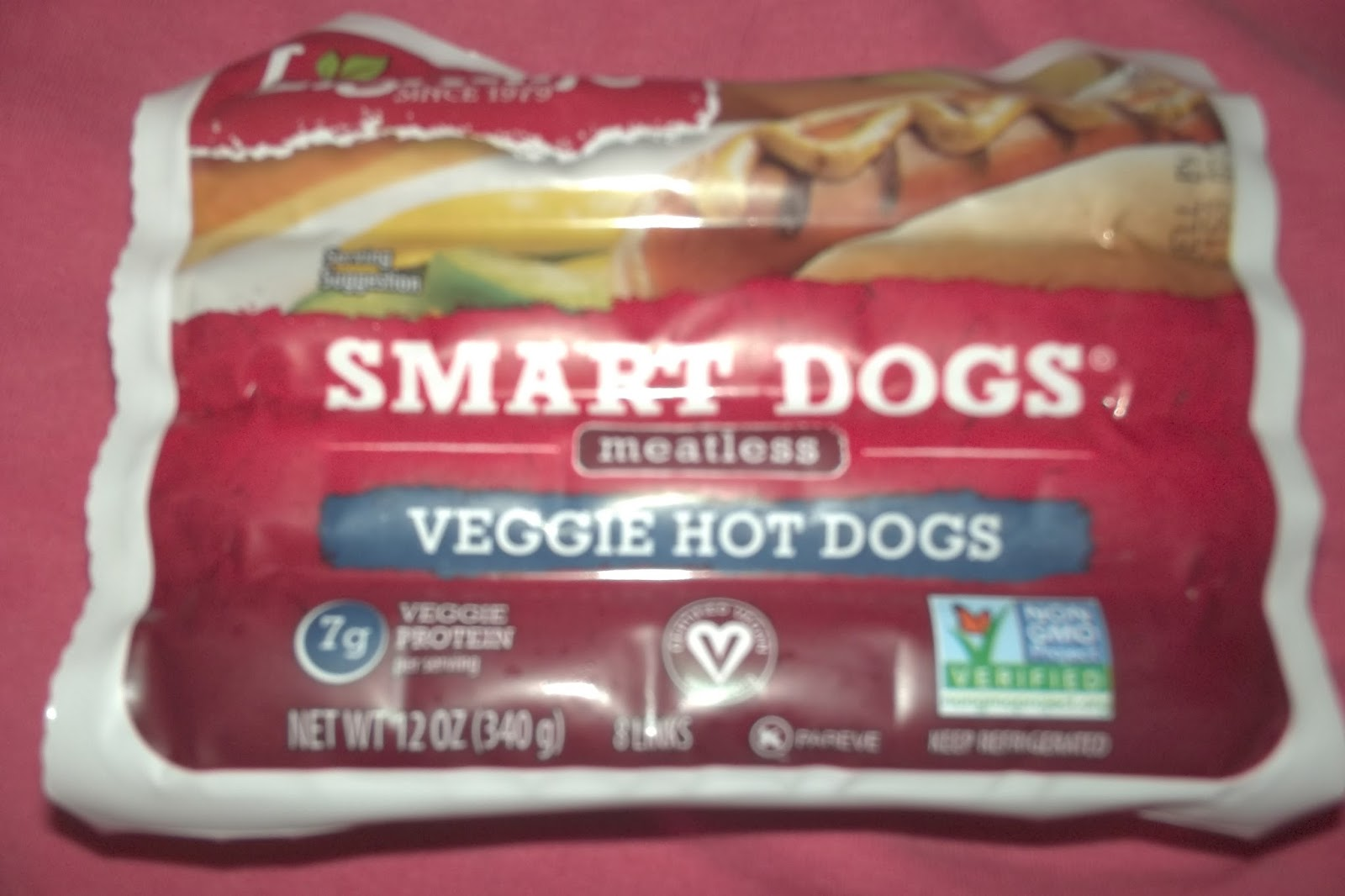 Veggie Hot Dogs By Lightlife Review