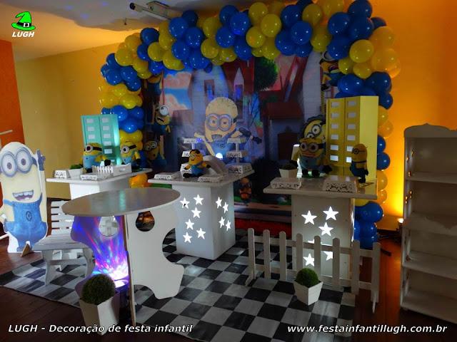 Decoração de festa tema  Minions - Aniversário infantil - Provençal