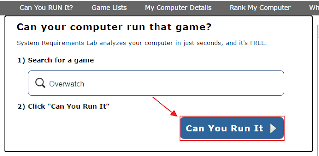 Hướng dẫn kiểm tra cấu hình máy tính có chơi được game không tự động