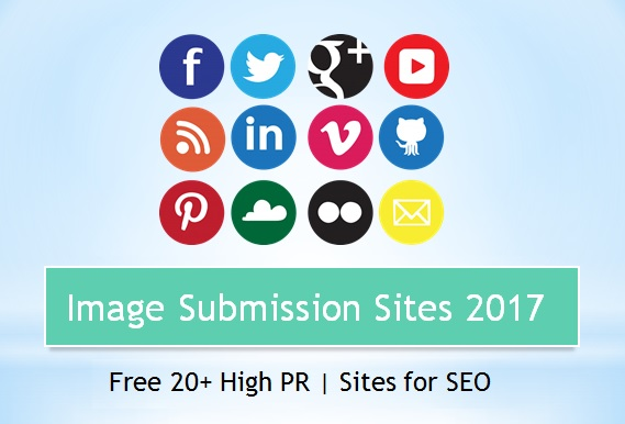 SEO Tutorial: List of image submission sites 2018  SEO