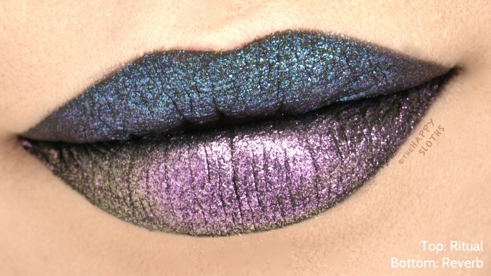"Urban Decay Vice Special Effects Long-Lasting Water-Resistant Lip Topcoat in ""Ritual"" & ""Reverb"": Review and Swatches"