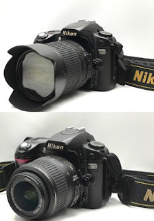 Jual DSLR 2nd Nikon D80 2nd