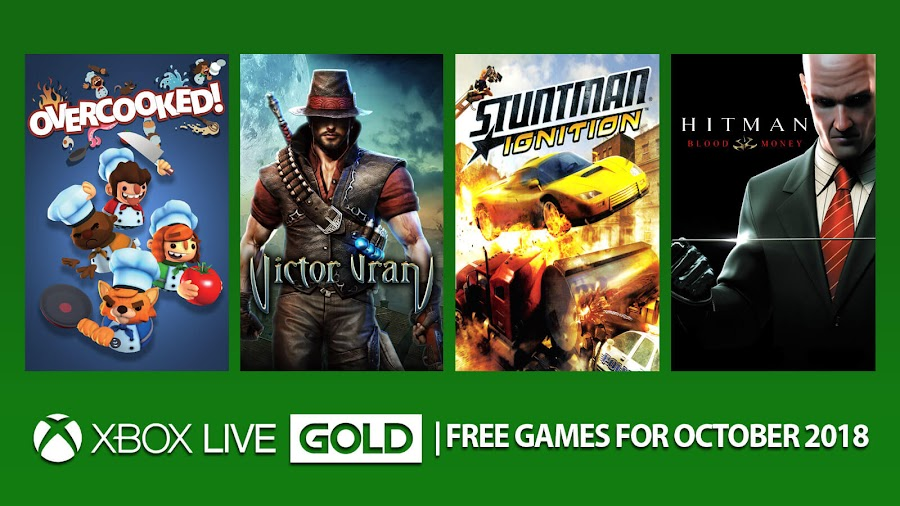 xbox live gold free games october 2018