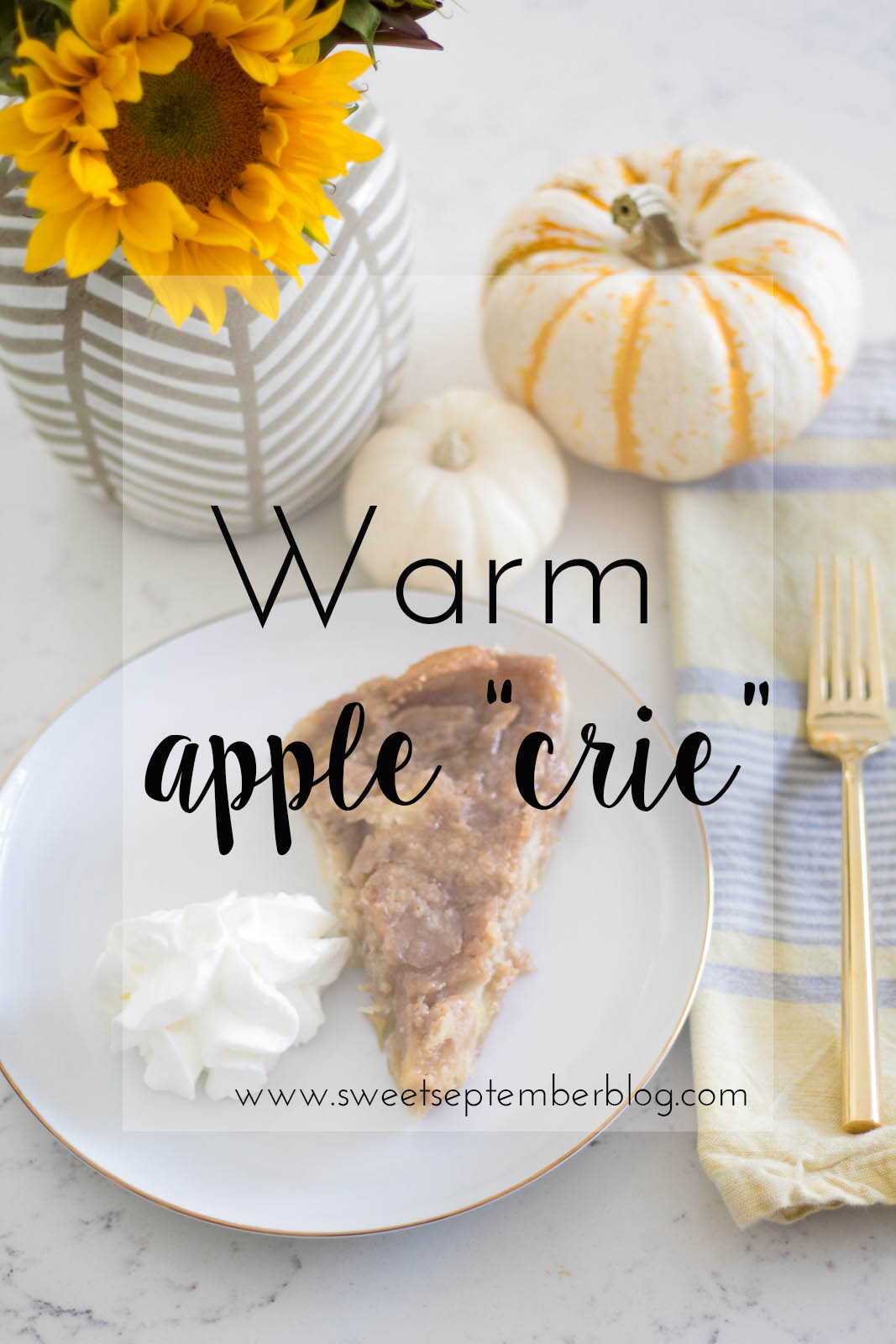 apple crie recipe