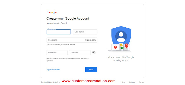 How to make a Gmail account?